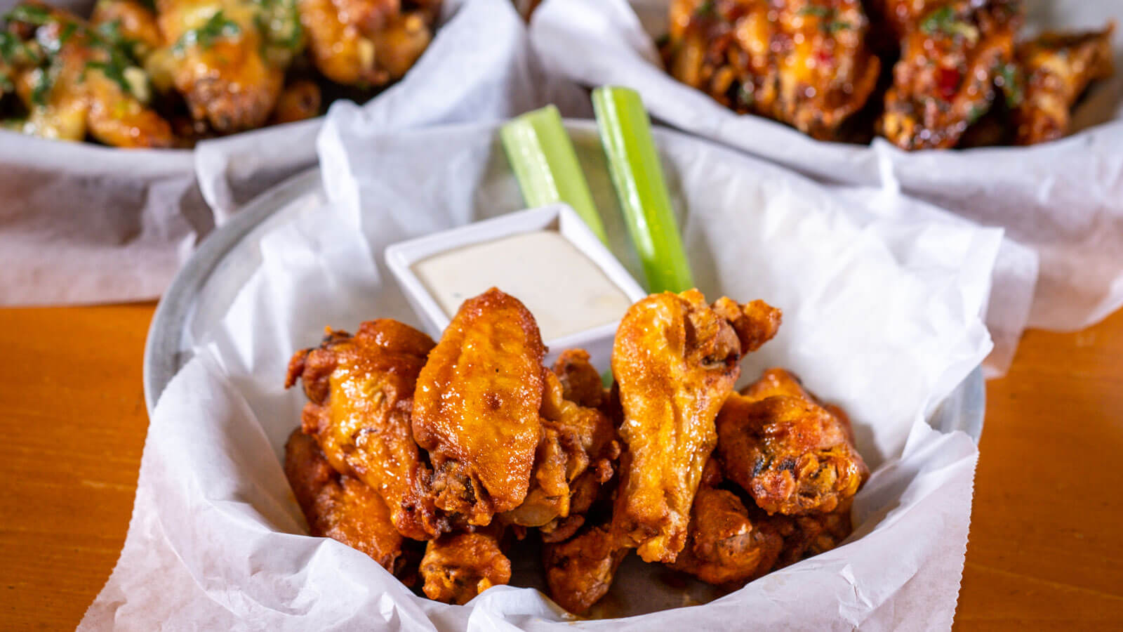 Spicy Wings from MJ23 Sports Bar & Grill - Desktop Gallery