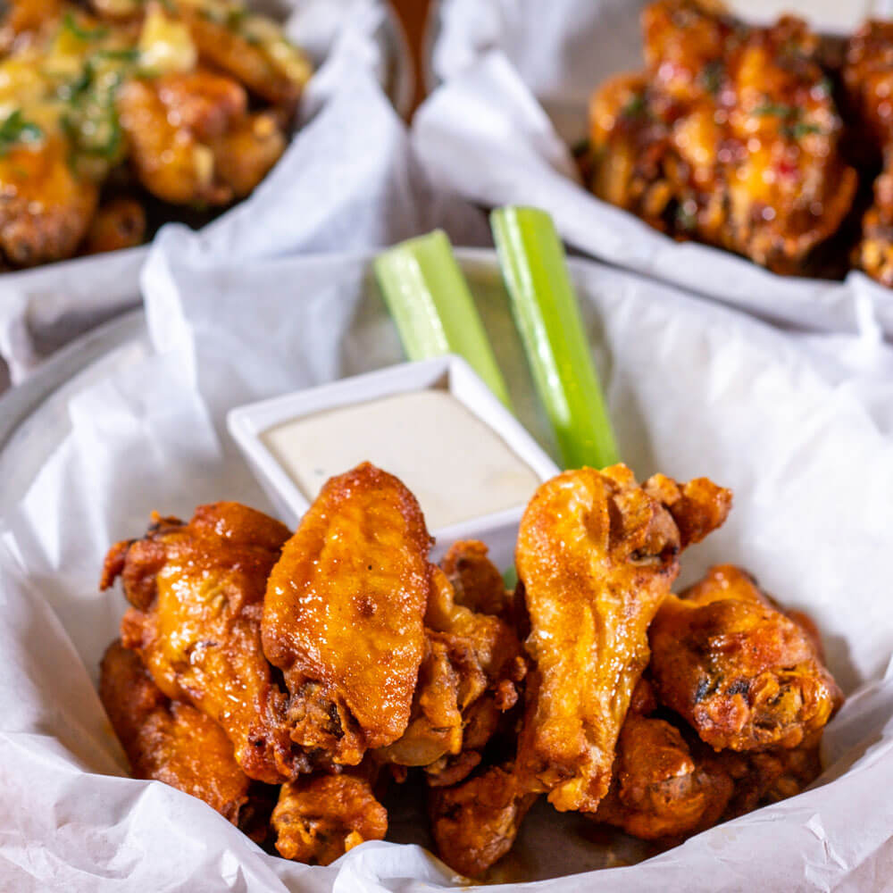 Spicy Wings from MJ23 Sports Bar & Grill - Mobile Photo Gallery